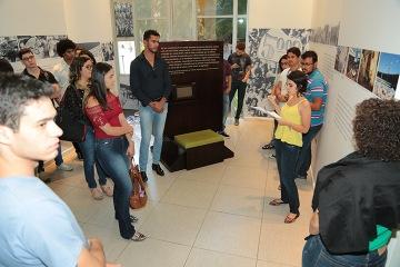 Alunos durante visita ao TRT-MG