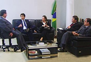 Presidente e vice-presidente do TRT visitam MPT e reforçam parceria com a JT (imagem 1)