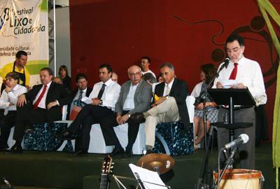 Presidente do TRT-MG prestigia abertura do Festival Lixo e Cidadania (imagem 1)