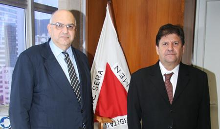 Presidente do TRF1 visita TRT de Minas (imagem 1)