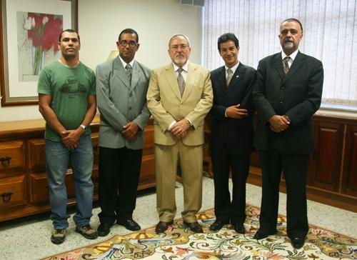 Deputado e ex- delegado da DRT visitam TRT-MG (imagem 1)