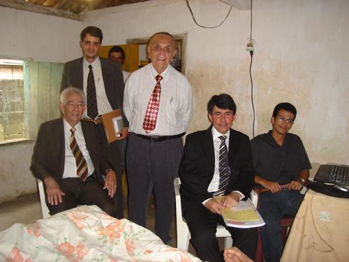 Juiz do Trabalho faz audiência em casa de reclamante incapacitado (imagem 1)
