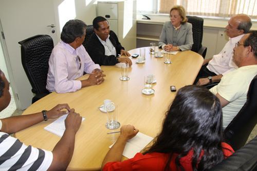Vice-presidente judicial reúne-se com dirigentes sindicais (imagem 1)