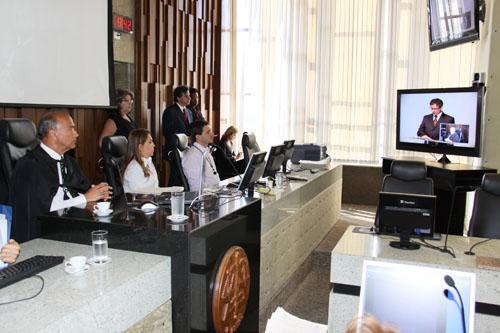 Transmissão da primeira sustentação oral a distância em Minas é realizada com sucesso (imagem 1)