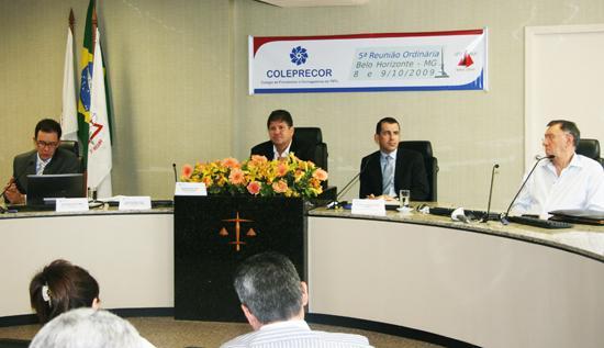 Corregedor Nacional de Justiça faz exposição em reunião do Coleprecor (imagem 1)