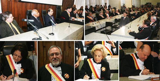 Empossados novos dirigentes do TRT-MG (imagem 1)