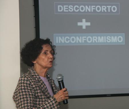 Aula da professora Miracy Gustin abre Curso de Formação de juízes (imagem 2)