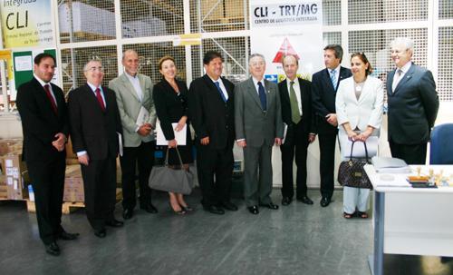 Centro de logística integrada do TRT-MG poderá ser base para modelo nacional (imagem 1)