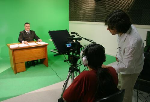 Estúdio do TRT-MG inicia gravação de aulas virtuais (imagem 1)