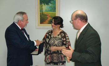 Presidente do TRT é homenageado em Divinopolis (imagem 1)