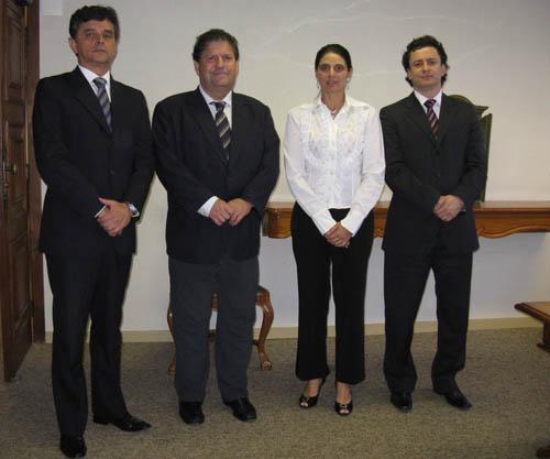 Presidente do TRT recebe reitor da Newton Paiva (imagem 1)