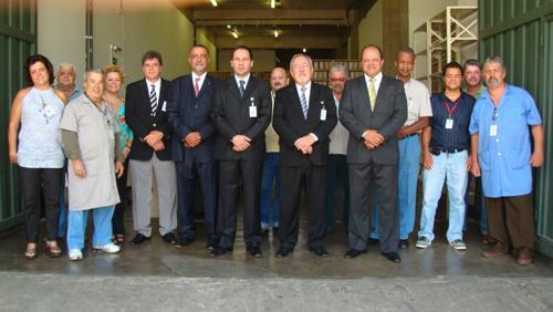 Presidente visita unidades do TRT (imagem 1)