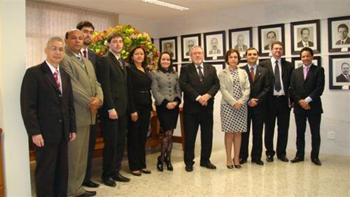 Presidente do TRT recebe comitiva da Zona da Mata (imagem 1)