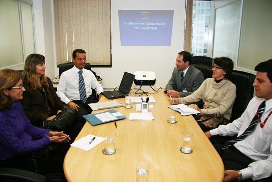 Representantes do Tribunal de Justiça Militar visitam a 3ª Região (imagem 1)
