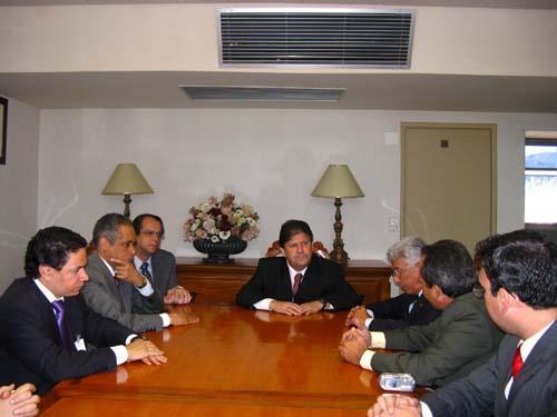 Presidente do TRT recebe comitiva de Salinas (imagem 1)