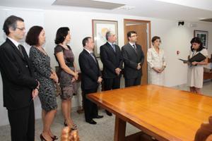 Juízes de 1ª Instância removidos tomam posse no TRT (imagem 1)