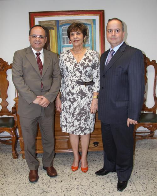 Presidente do TRT recebe visita de cortesia da 17ª Região (imagem 1)