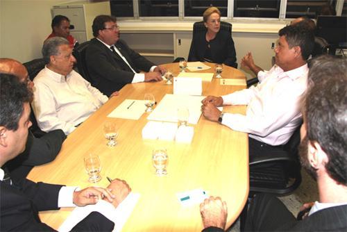 Vice-presidente judicial reúne-se com representantes sindicais (imagem 1)