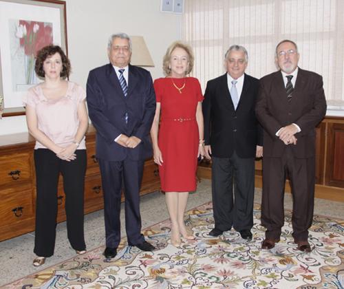 Dirigentes da Fiemg visitam o TRT-MG (imagem 1)