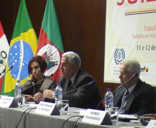 Desembargador participa de encontro de juízes do Trabalho em Lima (imagem 1)