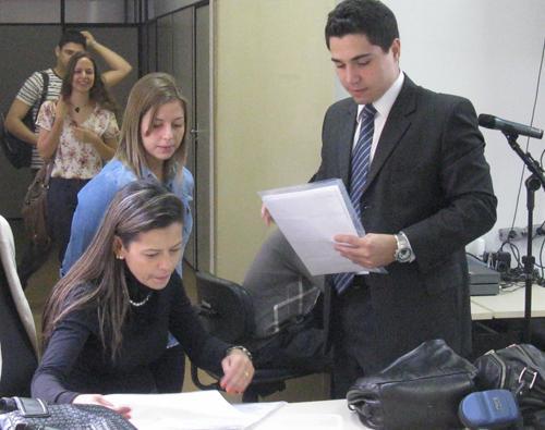 Alunos da UFMG fazem atividade no Laboratório de Práticas Trabalhistas (imagem 2)