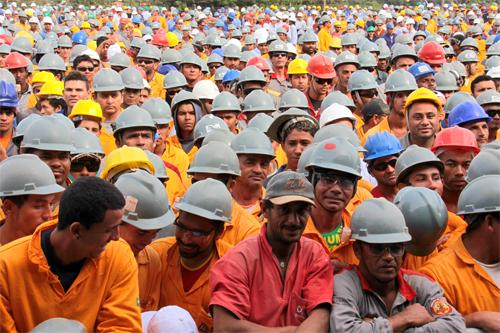 Ato Público no Mineirão reúne 2,5 mil operários (imagem 3)