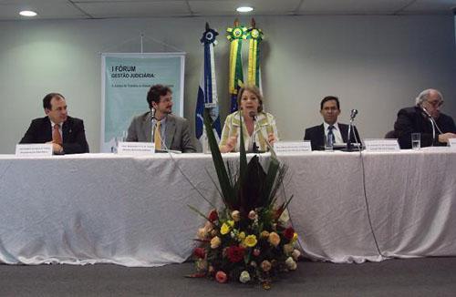 SINGESPA é destaque no I Fórum de Gestão Judiciária (imagem 1)