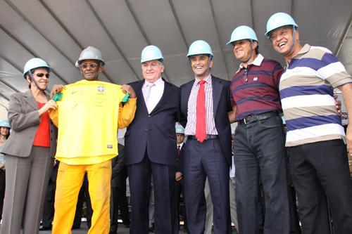 Ato Público no Mineirão reúne 2,5 mil operários (imagem 2)