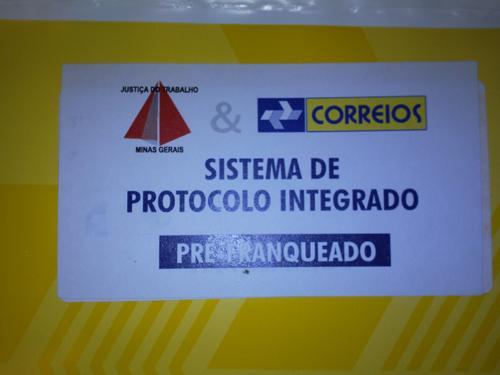 Envelope do Protocolo Integrado vem sendo substituído (imagem 2)