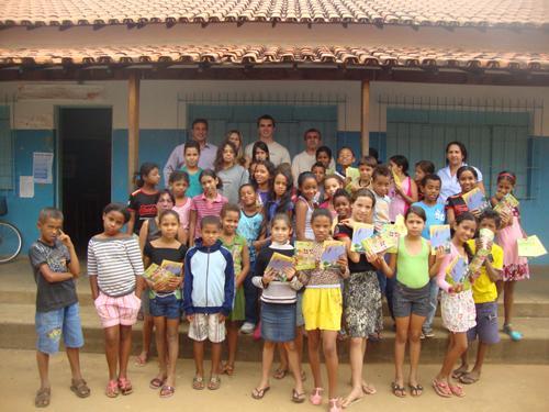 VT de Monte Azul participa da Semana da Saúde e Segurança nas Escolas (imagem 1)