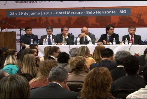 Desembargadores do TRT participam do I Congresso de Direito Sindical da OAB (imagem 1)