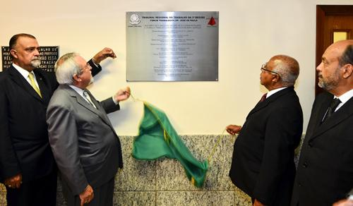 Inaugurado em Pedro Leopoldo Foro Trabalhista Doutor José de Paula (imagem 1)