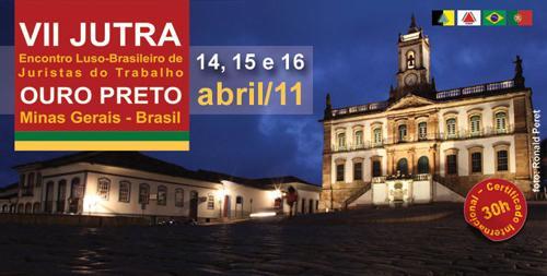 Ouro Preto sedia Encontro Luso-Brasileiro de Juristas do Trabalho (imagem 1)