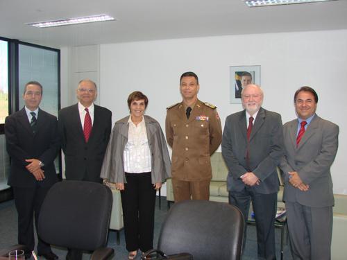 Presidente do TRT-MG visita Comando da Polícia Militar do Estado (imagem 1)