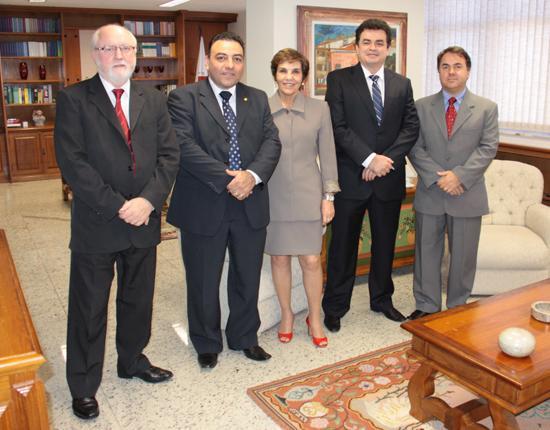 Presidente do TRT recebe deputado federal (imagem 1)