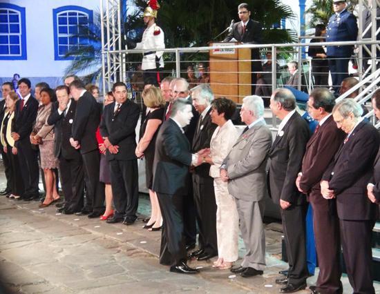 Presidente do TRT da 3ª Região, desembargadora Deoclecia Amorelli Dias recebe Medalha JK em Diamantina (imagem 1)