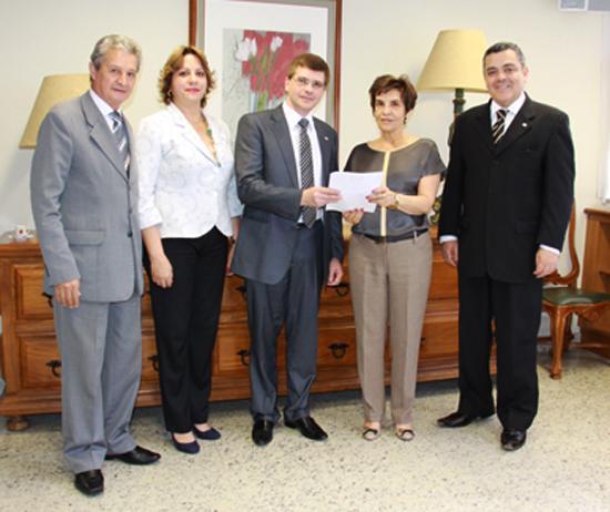 Presidente da OAB de Araxá visita o TRT (imagem 1)