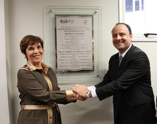 TRT inaugura sala para os advogados (imagem 1)