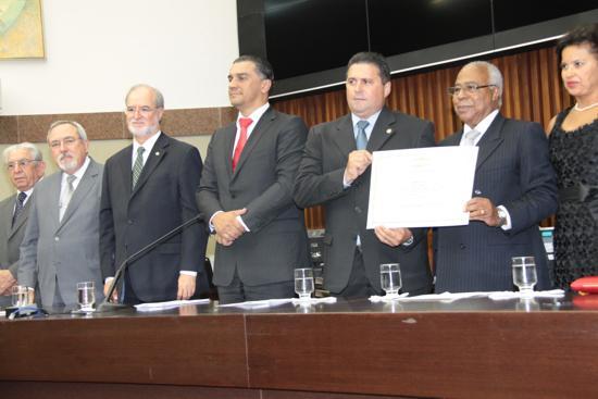 Ministro Reis de Paula se emociona ao receber título de Cidadão Honorário de BH (imagem 1)