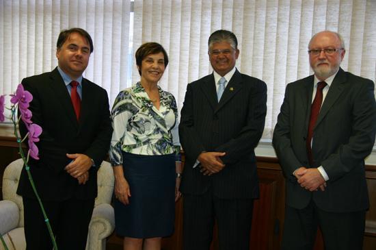 Senador Clésio Andrade visita TRT-MG (imagem 1)