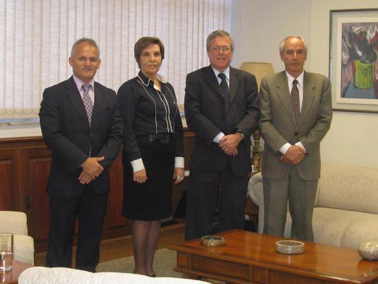 Presidente do TRT recebe visita do desembargador César Marques, do TRT-RJ (imagem 1)