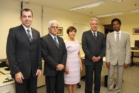Ministro corregedor visita Escola Judicial do TRT e TJMG (imagem 1)