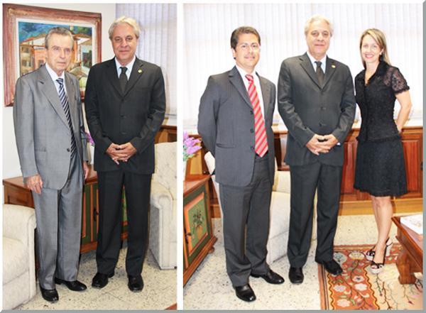 Corregedor-geral recebe ministro do TST e procuradores do MPT (imagem 1)