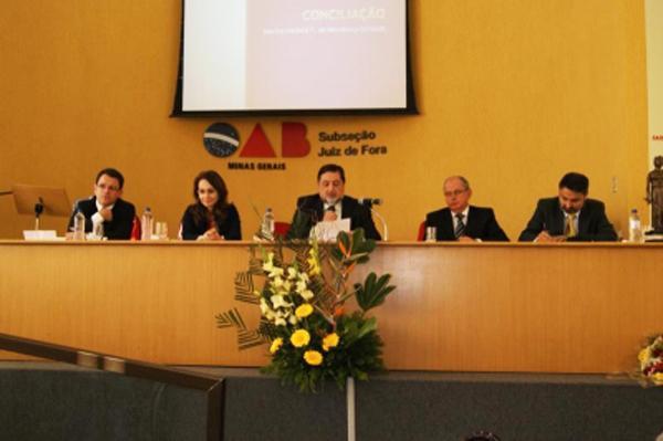 Magistrados do TRT-MG participam de Seminário da OAB em Juiz de Fora (imagem 2)