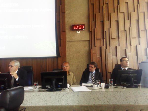 Sessão extraordinária do Pleno apresenta Pje aos desembargadores do TRT-MG (imagem 4)