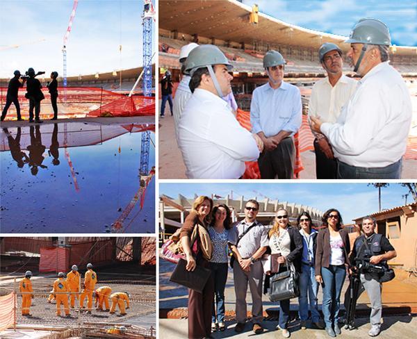 Visita ao Mineirão prepara ato público pelo trabalho seguro (imagem 1)