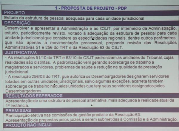 Singespa divulga prioridades dos juízes do Trabalho de Minas (imagem 1)