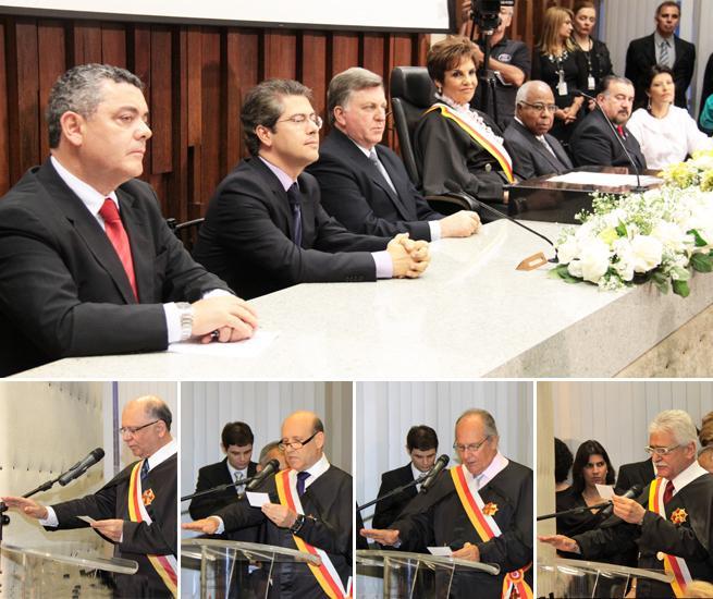 Empossados dirigentes do TRT-MG para o biênio 2012/2013 (imagem 1)