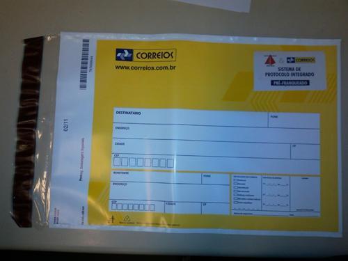 Envelope do Protocolo Integrado vem sendo substituído (imagem 1)