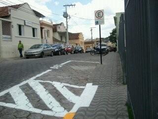 Foro de Formiga já conta com estacionamento para pessoas portadoras de necessidades especiais (imagem 1)